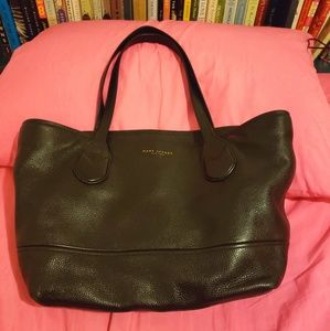 Marc jacobs leather tote bag